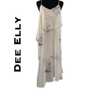 Dee Elly Layered Maxi Dress NWT Size S